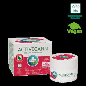 Annabis activecann organic hemp balm for massage